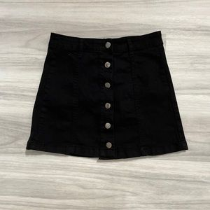 Black Forever 21 Mini Skirt